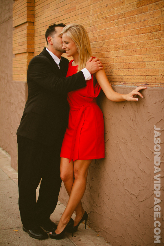 Engagement session by Texas House of Rock in downtown Corpus Christi