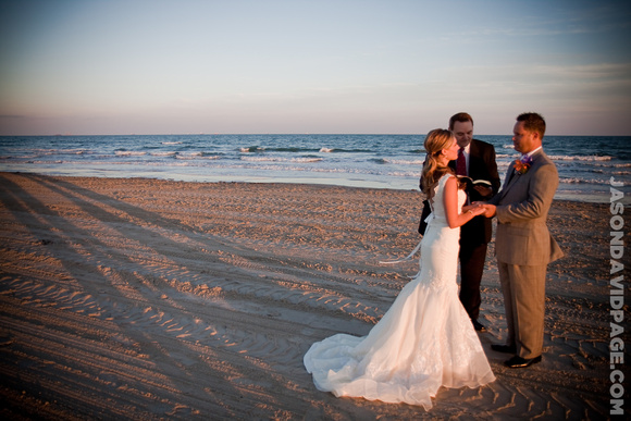 LampDs Intimate Port Aransas Beach Wedding