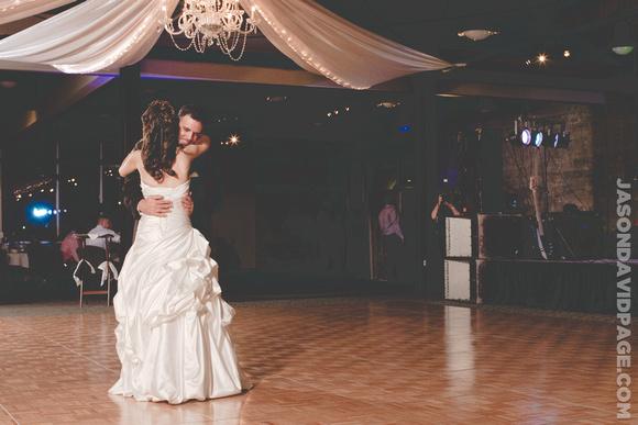 First Dance by Corpus Christi wedding photographer Jason Page