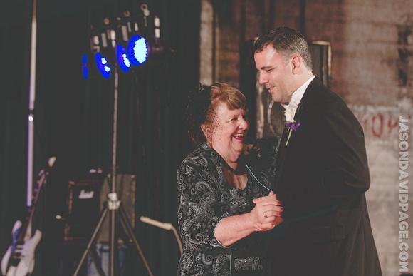 Mother Son Dance by Corpus Christi wedding photographer Jason Page