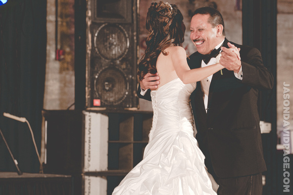 Father Daughter Dance by Corpus Christi wedding photographer Jason Page